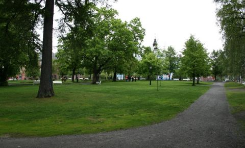 Parcul Vanortsparken din Umea