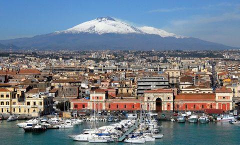 Vulcanul Etna din Catania