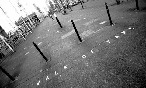 Promenada Walk of Fame din Rotterdam