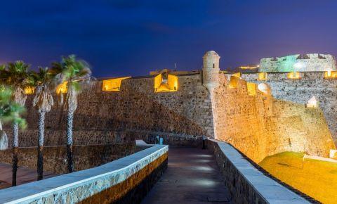 Zidurile Regale din Ceuta