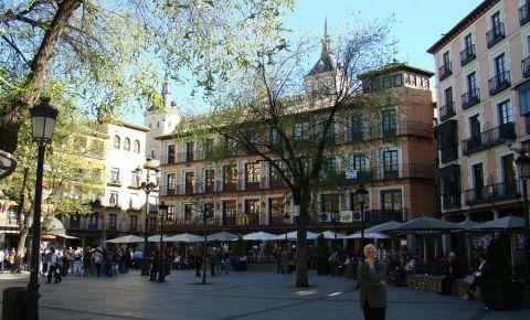 Piata Zocodover din Toledo