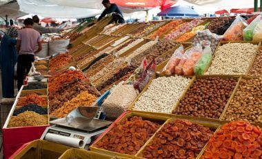 Bazarul Osh din Bishkek