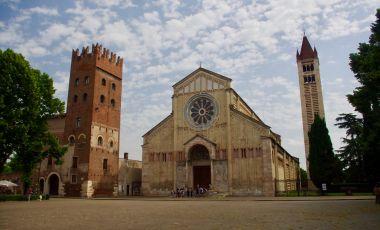 Biserica San Zeno Maggiore din Verona