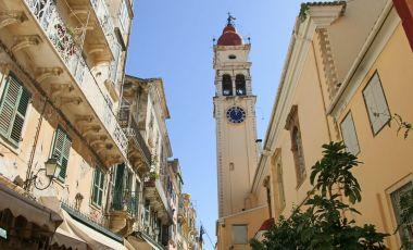 Biserica Sfantul Spiridon din Insula Corfu