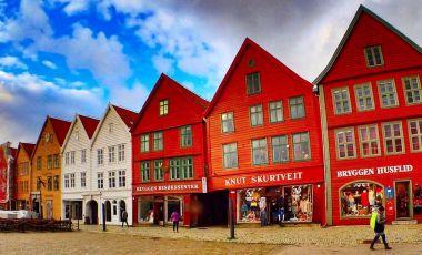 Docurile Bryggen din Bergen