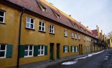 Cartierul Fuggerei din Augsburg