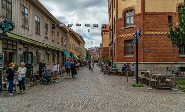 Cartierul Haga din Goteborg