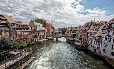 Cartierul Petite France din Strasbourg