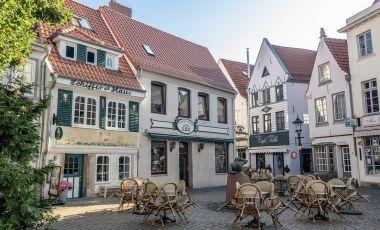 Cartierul Schnoor din Bremen