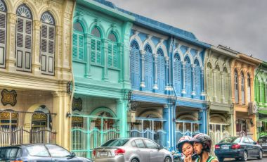 Casele sino-portugheze din Phuket