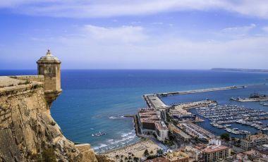 Castelul Santa Barbara din Alicante