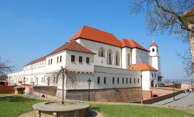 Castelul Spilberk din Brno