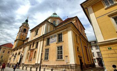 Catedrala Sfantul Nicolae din Ljubljana