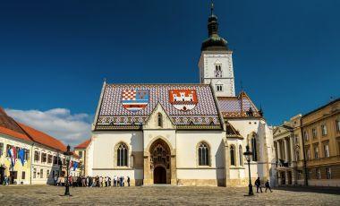 Catedrala Sfantul Marcu din Zagreb