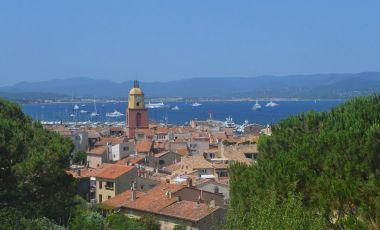 Centrul Vechi din Saint Tropez