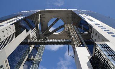 Cladirea Umeda Sky din Osaka