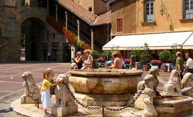 Fantana Contarini din Bergamo