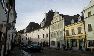 Centrul Egon Schiele din Cesky Krumlov