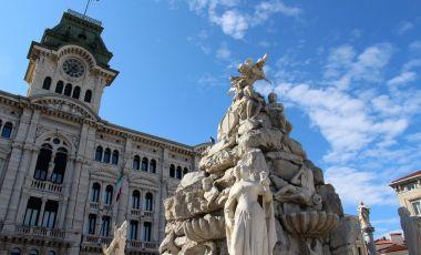 Fantana celor Patru Continente din Trieste