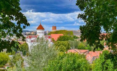 Castelul Gediminas din Vilnius