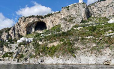 Grota de Smarald din Amalfi