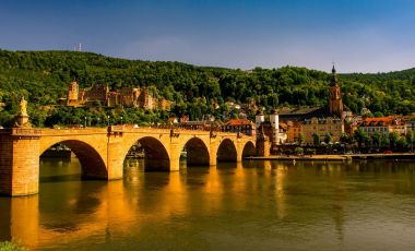Orasul Istoric si Strada Principala din Heidelberg