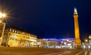 Piata Centrala Luisenplatz din Darmstadt