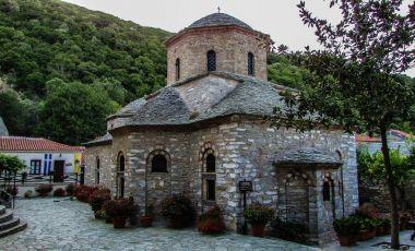 Manastirea Evangelistria din Insula Skiathos