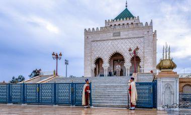 Mausoleul lui Mohammed al V-lea din Rabat
