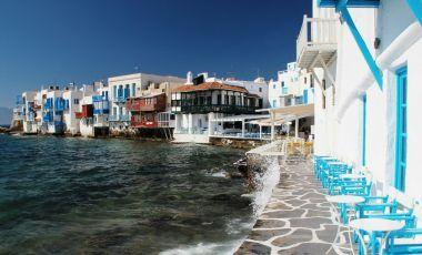 Mica Venetie din Insula Mykonos