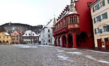 Piata Catedralei din Freiburg