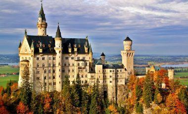 Castelul Neuschwanstein din Fussen