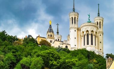 Bazilica Notre Dame de Fourviere din Lyon