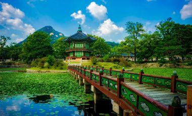 Palatul Gyeongbokgung din Seul
