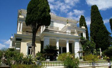 Palatul Imparatesei Sissi din Insula Corfu
