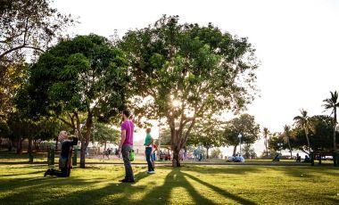 Parcul Al-Riyam din Muscat