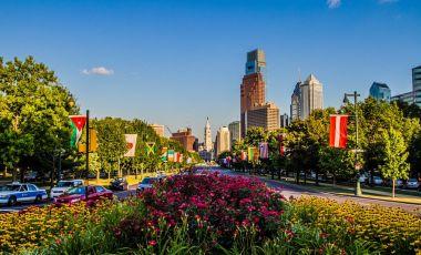 Parcul Fairmount din Philadelphia