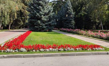 Parcul Panfilov din Alma Ata