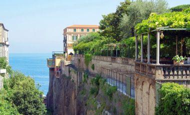 Parcul Villa Comunale din Sorrento