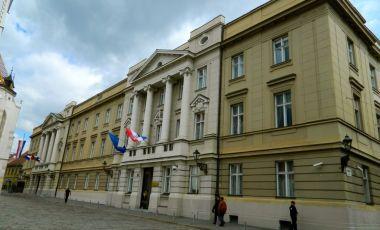Parlamentul Croatiei din Zagreb