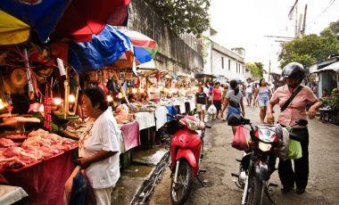 Piata Carbon din Cebu