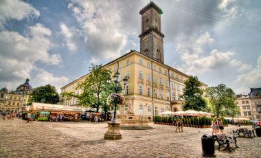 Piata Centrala din Liov