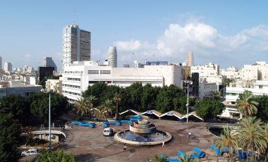 Piata Dizengoff din Tel Aviv