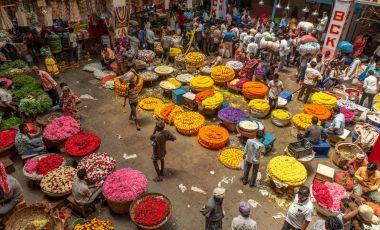 Piata Krishnarajendra din Bangalore