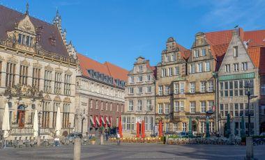 Piata Marktplatz din Bremen