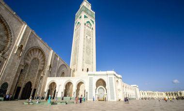 Piata Mohammed V din Casablanca