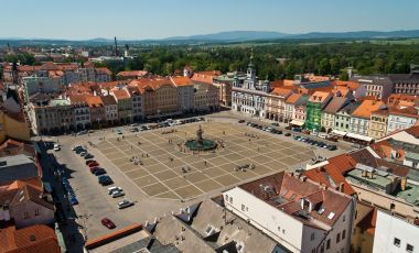 Piata Premysl Otakar II din Ceske Budejovice