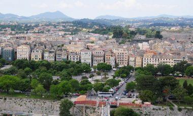 Piata Spianada din Insula Corfu