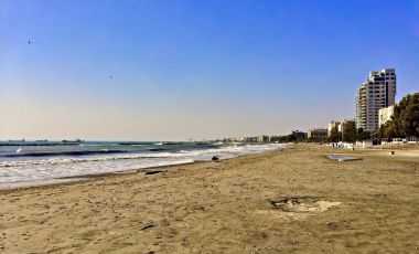 Plaja Dhassoudi din Limassol