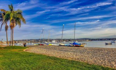 Plaja Dog Beach din San Diego